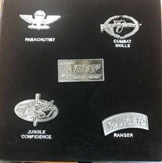 SAF Mini Confidence Badge (collectibles)