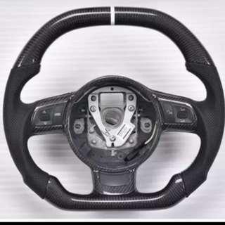 CF Carbon fiber Steering Wheel
