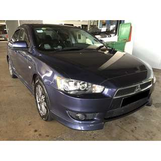 23/03-26/03/2018 MITSUBISHI LANCER EX ONLY $195.00 (P PLATE WELCOME)