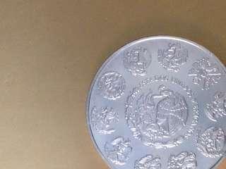 Estados Unidos Mexicanos Silver 999 Coin
