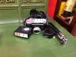 Vintage Yashica Minister D Camera