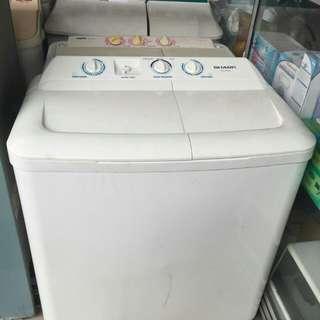 Mesin Cuci 2 Tabung Sharp 8 Kg