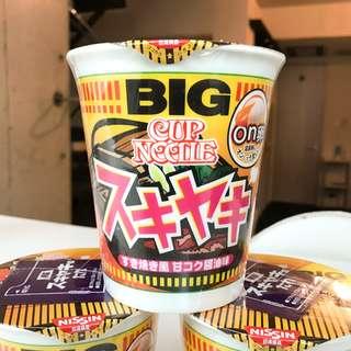 BIG 限定杯麵 (壽喜燒味)