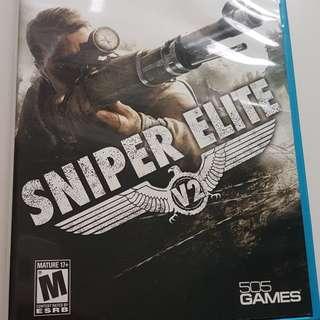 Wii U Sniper Elite V2