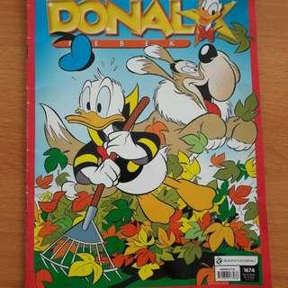 Preloved Komik Book Donald Buku Besar (HARGA SATUAN)