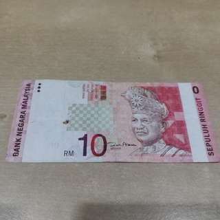 Genuine Freak RM10 Note