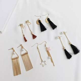 Earrings ($15 for 5pairs)