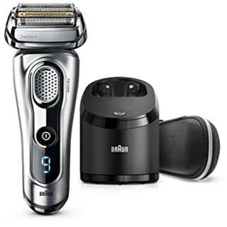Braun 9290cc wet dry rechargeable electric shaver