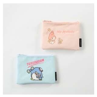 玉桂狗 企鵝 袋 粉紅 粉藍 2款