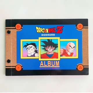 Dragon Ball Card Series + Film Collection Album