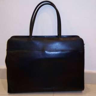 PU leather document holder
