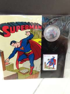 Superman Silver Coin Canada Mint