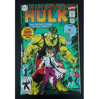 Incredible Hulk #393 (1992) 30th Anniversary, Double-sized Milestone issue!