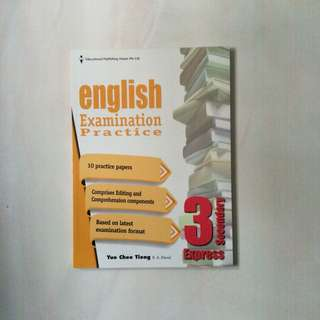 secondary 3 express english assessment book