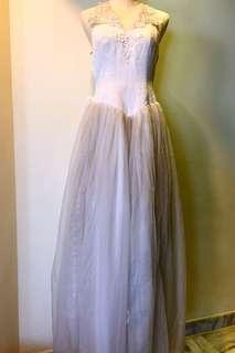 Bridal white Gown W15