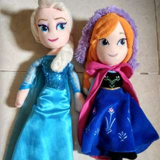 Set Boneka Frozen