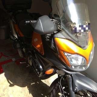 Suzuki VStrom 650 COE 2022 Aug