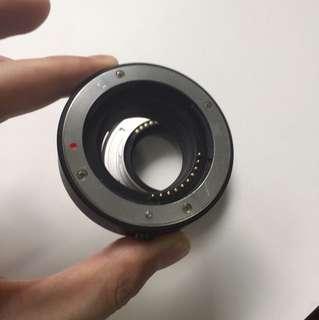 Fuji x mount extension tube (auto focus)
