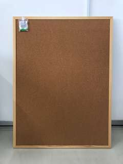 Bulletin Cork Board with Pins