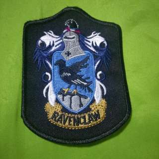 Ravenclaw iron on patch free postage