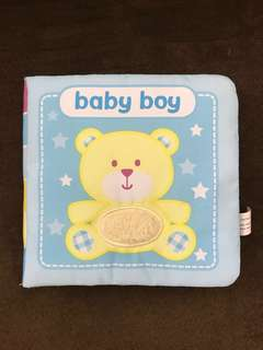 My First Cloth Book - Baby Boy