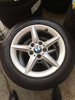 BMW F20 Rims & Tyres