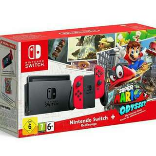 Nintendo Switch + Bundle