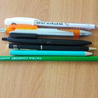Preloved Pen Take All (Masih Fungsi)