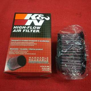 K&N air filter - Kawasaki Z800