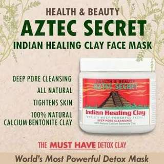 aztec healing clay mask (aunthentic) pre- order