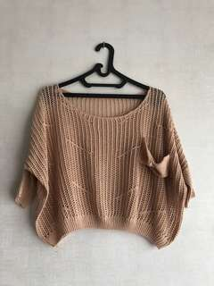 Womens blouse outter sweater