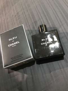 Authentic BN Parallel Import Chanel Bleu De Chanel edt 100ml