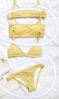 Mango Strip (Lewis) Bikini by Eighth Mermaid