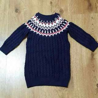Sweater HnM, preloved, good condition, size 2 tahun