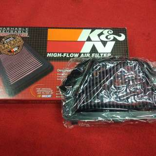K&N air filter Yamaha R6 08-12