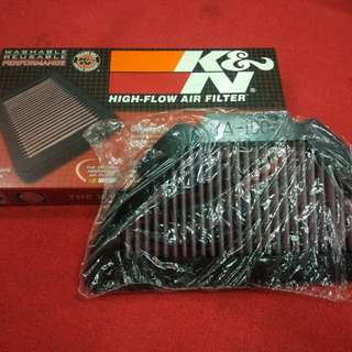 K&N air filter Yamaha R1 04-06