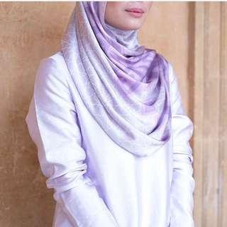 Alhambra duckscarves Shawl- lilac
