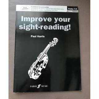 Paul Harris Improve your sight-reading! (Violin) grades 7-8