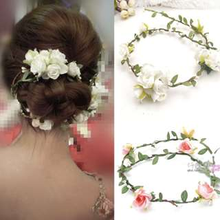 Flower Headband for Wedding