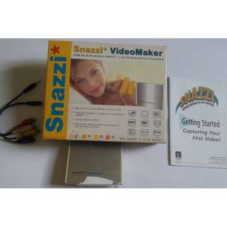 Snazzi Video Maker for Video Capture Card