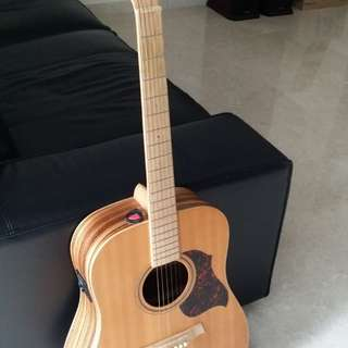 J and D acoustic guitar