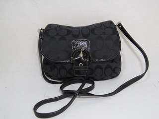 Brand new w tag Coach Signature Sling Bag crossbody - Black