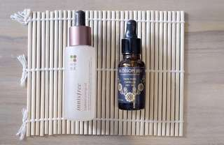 DUO Innisfree Soybean Energy Oil & Blossom Jeju 100% Camellia Oil