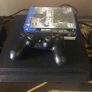 Ps4 slim 500gb with 3 games
