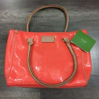 Kate Spade Orange Square Bag