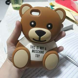iPhone 5 Moschino Bear case