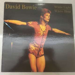 David Bowie ‎– White Light / White Heat, Marble Vinyl LP, The Swingin' Pig ‎– TSP 053, 1990, Luxemburg