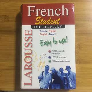 Larousse French Student Dictionary