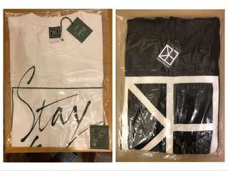 Stay 622 tee + One Fine Day Hoodie CNBLUE Jung Yong Hwa