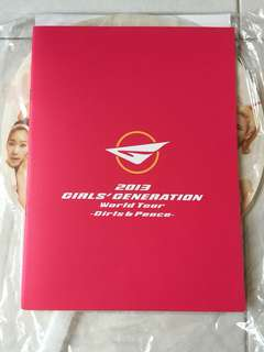 少女時代 2013 演唱會場刊 Girls Generation World Tour